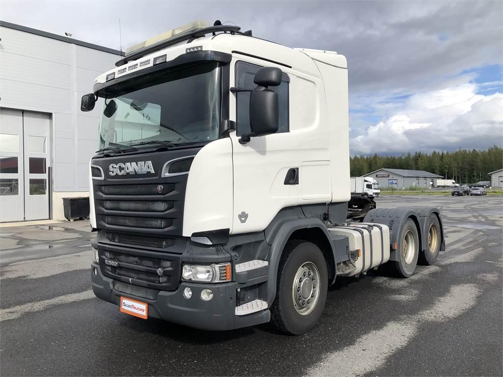 Scania R580 6x4 + Carnehl kippikärry 3aks. (liuku), Sora- ja kippiautot, Raskas kalusto ja perävaunut