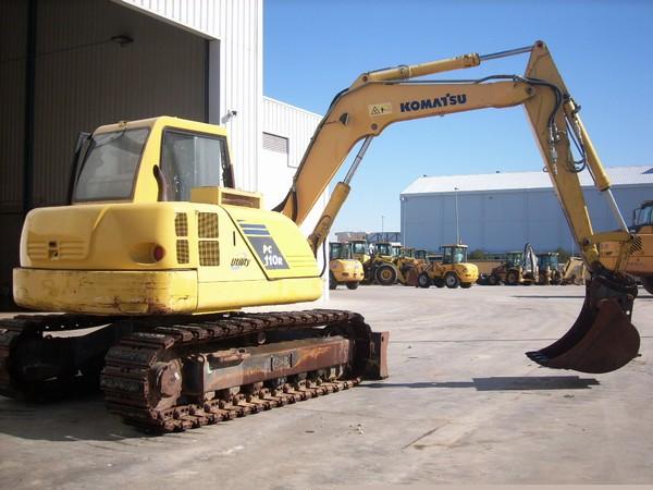 Komatsu PC110R, Crawler Excavators, Construction Equipment