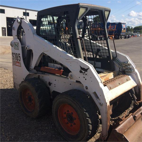 Bobcat S185 - Skid Steer Loaders - Construction Equipment
