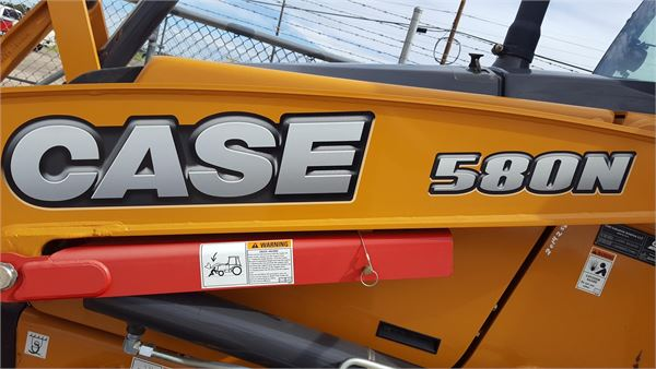 CASE 580N, Backhoe Loaders, Construction Equipment