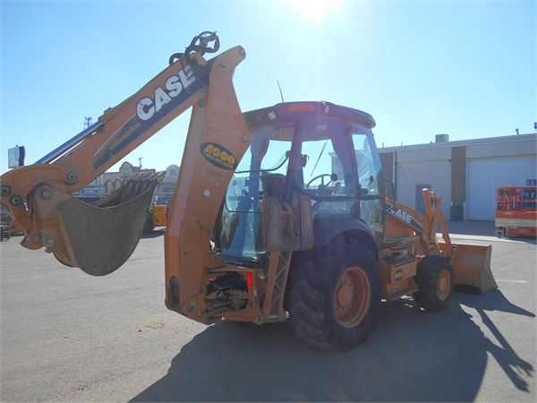 CASE 580SN, Backhoe Loaders, Construction Equipment