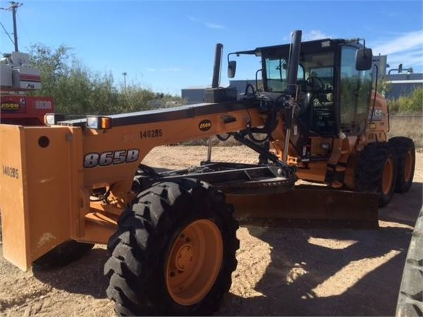 CASE 865B, Motor Graders, Construction Equipment