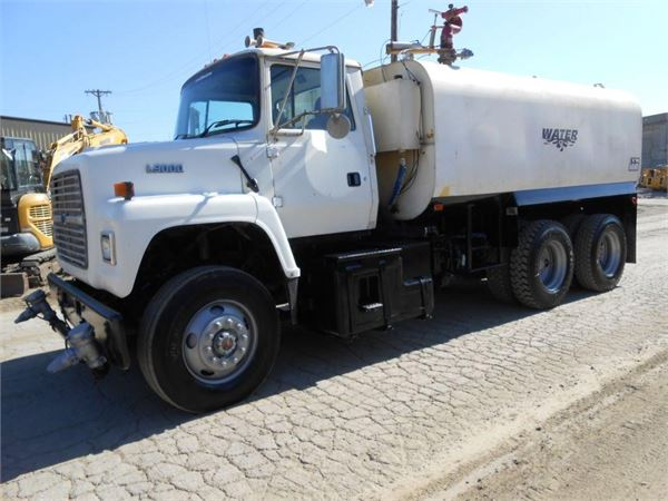 Ford LN9000, Water Tankers, Construction Equipment