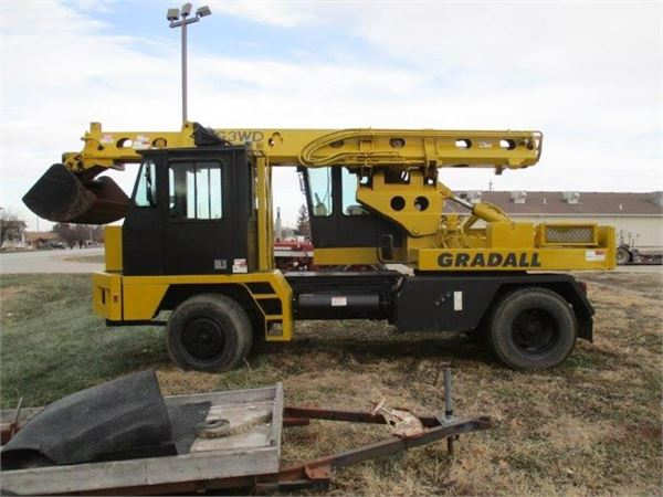 Gradall G3WD, Wheeled Excavators, Construction Equipment