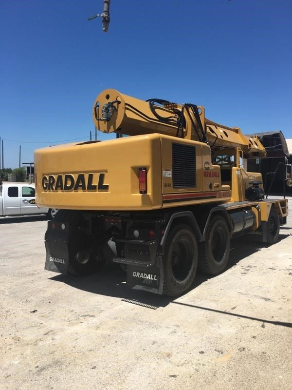 Gradall XL4100 IV, Wheeled Excavators, Construction Equipment