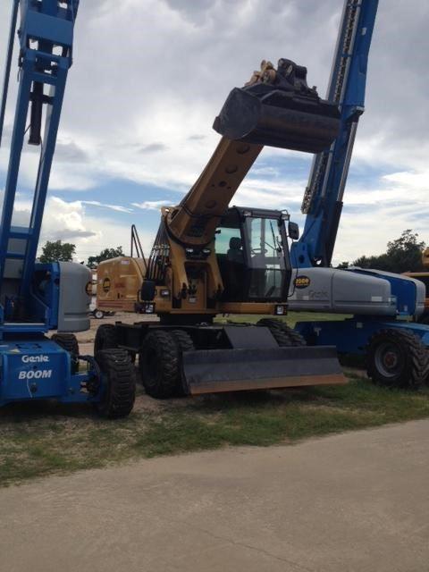 Gradall XL4300 III, Wheeled Excavators, Construction Equipment