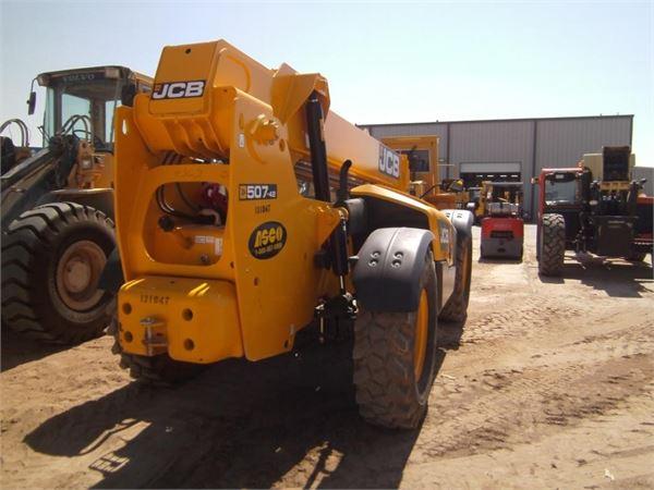 JCB 507-42 - Telescopic Handlers - Construction Equipment - Volvo CE