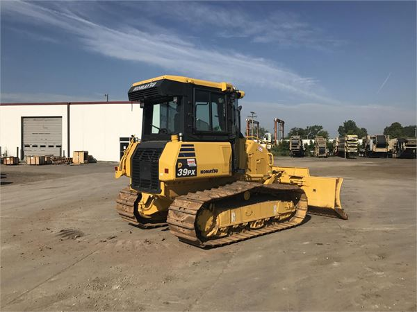 Komatsu D39PX-24, Dozers, Construction Equipment