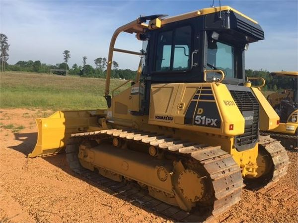 Komatsu D51PX-22, Dozers, Construction Equipment