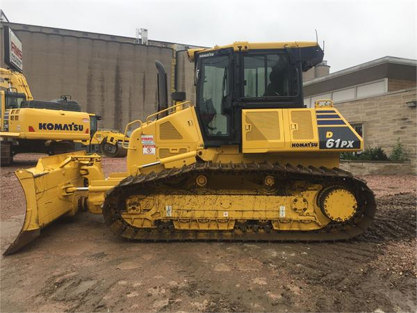 Komatsu D61PX-23, Crawler dozers, Construction Equipment