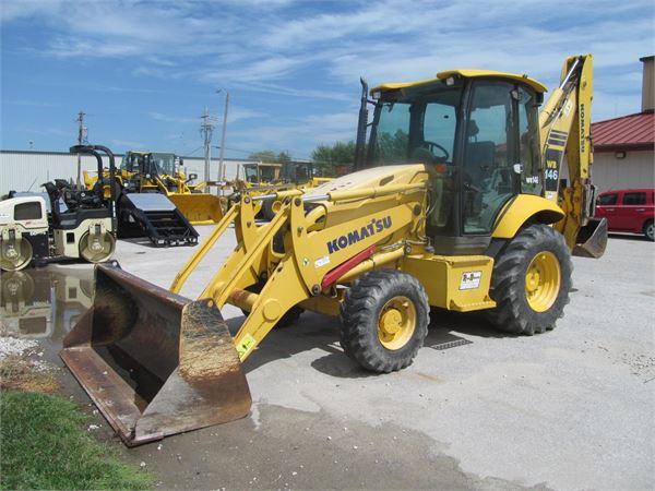 Komatsu WB146-5, Backhoe Loaders, Construction Equipment