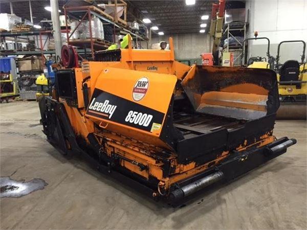 LeeBoy 8500D - Asphalt pavers - Construction Equipment