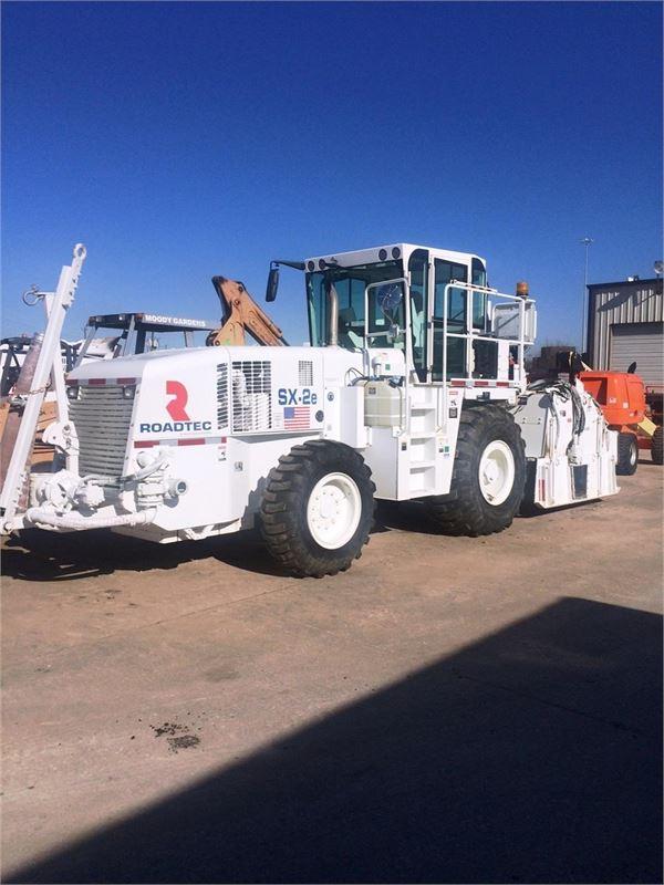 Roadtec SX2E, Asphalt pavers, Construction Equipment