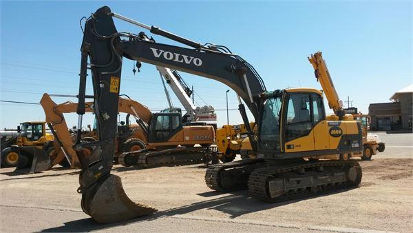 Volvo EC160DL, Crawler Excavators, Construction Equipment