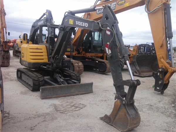 Volvo EC55C, Compact Excavators, Construction Equipment