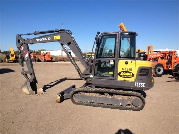 Volvo EC55C, Mini Excavators, Construction Equipment