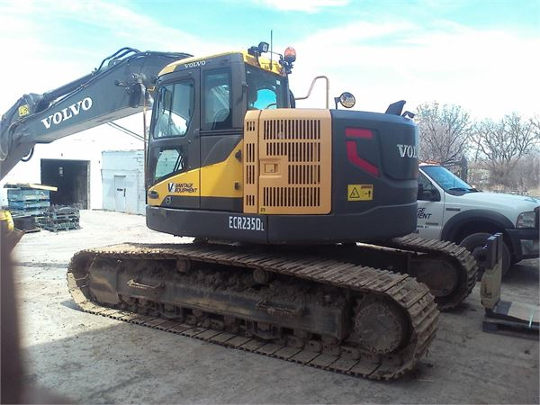 Volvo ECR235DL, Crawler Excavators, Construction Equipment