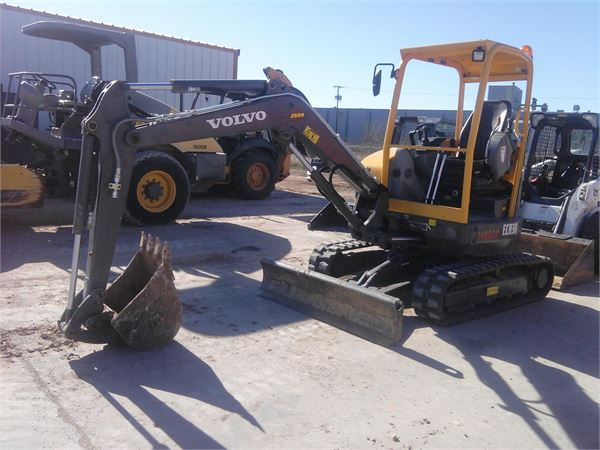 Volvo ECR38, Mini Excavators, Construction Equipment