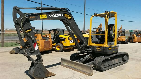 Volvo ECR58, Mini Excavators, Construction Equipment