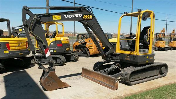 Volvo ECR58, Mini Excavators, Construction Equipment