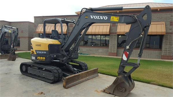 Volvo ECR58, Compact Excavators, Construction Equipment