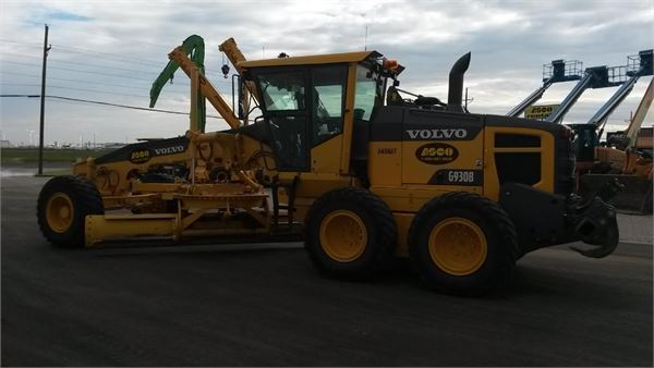 Volvo G930B, Motor Graders, Construction Equipment