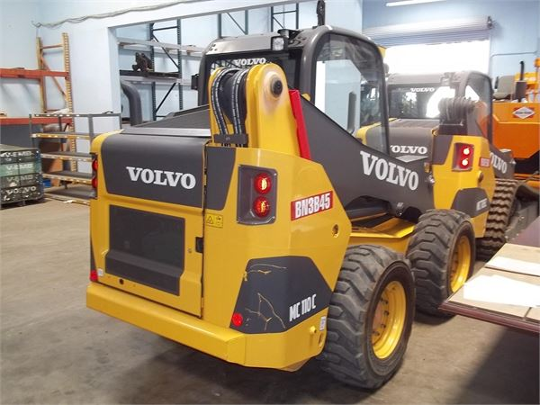 Volvo MC110C, Compact Track/Skid Steer, Construction Equipment