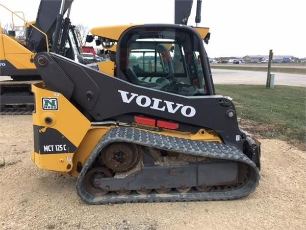 Volvo MCT125C, Skid Steer Loaders, Construction Equipment