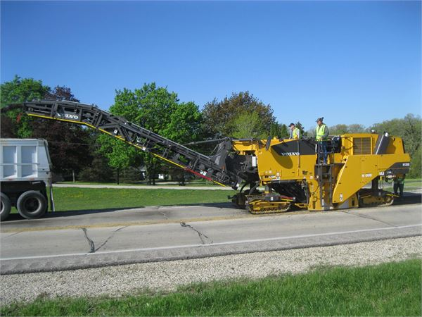 Volvo MT2000, Asphalt pavers, Construction Equipment