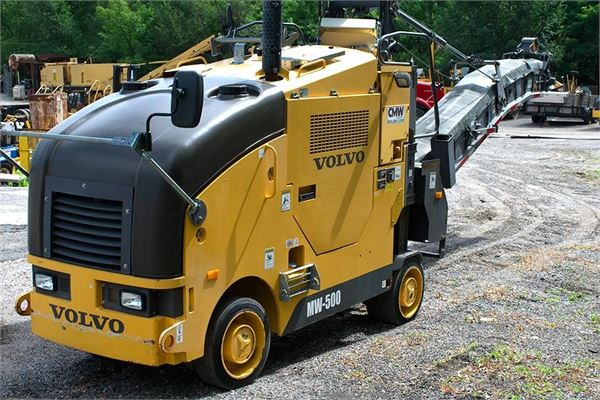 Volvo MW500, Asphalt pavers, Construction Equipment