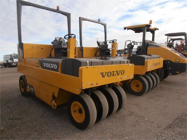 Volvo PT125R, Pneumatic tired rollers, Construction Equipment