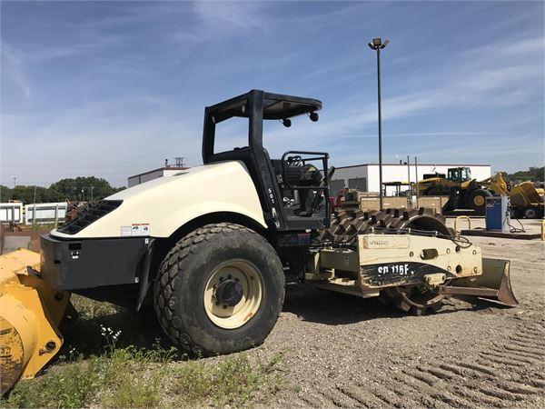 Volvo SD116F, Soil Compactors, Construction Equipment
