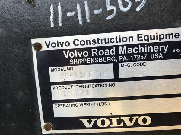 Volvo SD116F, Soil Compactors, Construction Equipment