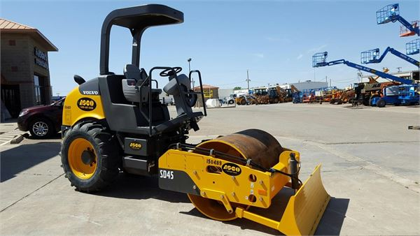 Volvo SD45, Asphalt Compactors, Construction Equipment