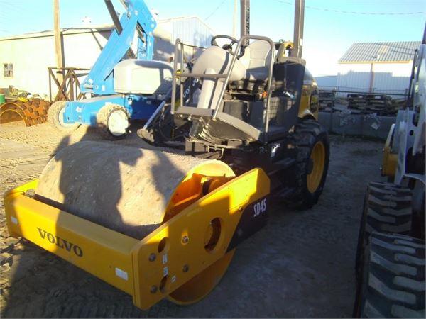 Volvo SD45, Asphalt Compactors, Construction Equipment