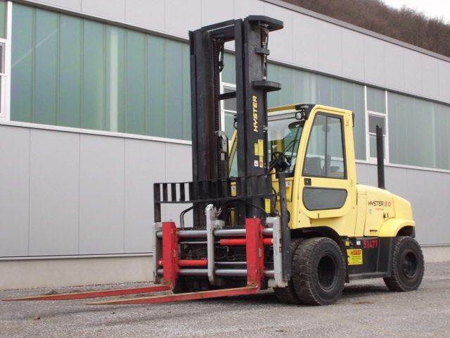 Hyster H8.0FT9, Diesel counterbalance Forklifts, Material Handling