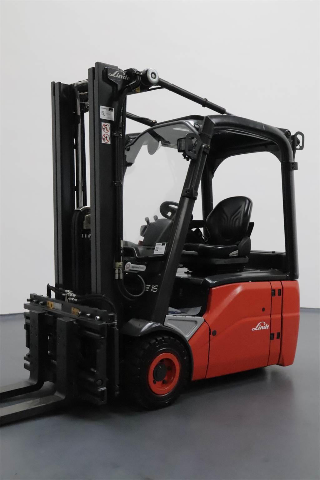 Linde E16-386-01, Electric forklift trucks, Material Handling