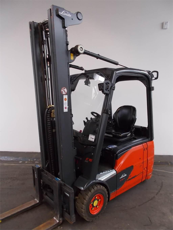 Linde E16-386-02, Electric forklift trucks, Material Handling