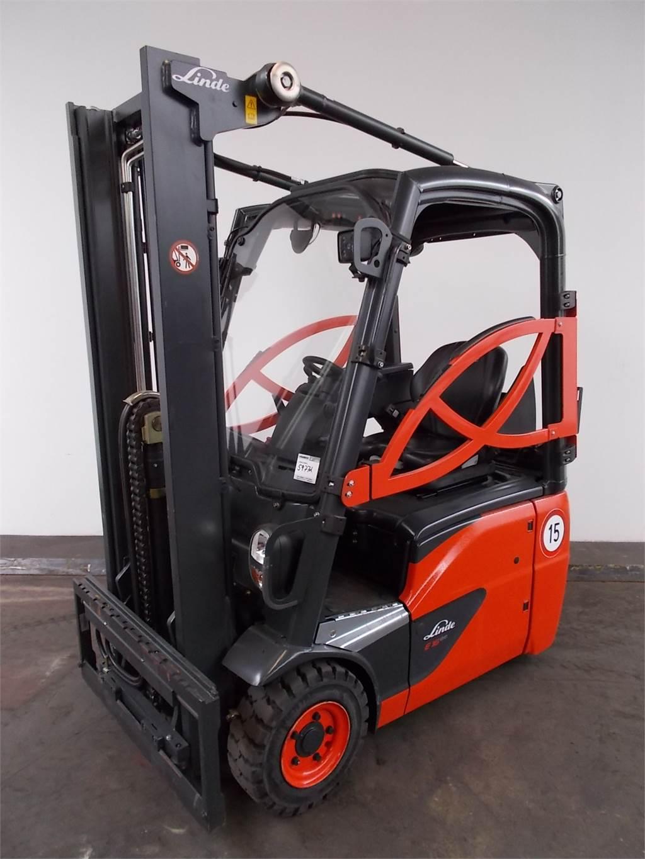 Linde E16C-386-01, Electric forklift trucks, Material Handling