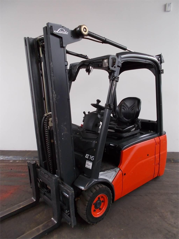 Linde E16L-386-01, Electric forklift trucks, Material Handling