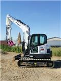 Bobcat E 85, 2016, Mini excavators  7t - 12t