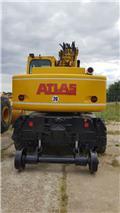 Atlas 1604 K ZW, 2000, Gumikerekes kotrók
