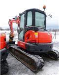 Kubota grävmaskin U55-4, 1 års garanti! -12, 2012, Minigrävare < 7t