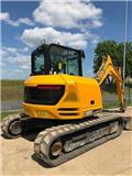 JCB 85Z-1, 2016, Mini excavators  7t - 12t