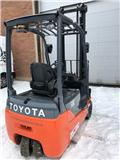 Toyota 8 FB ET 16, 2010, Electric forklift trucks