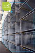 Inne marki Andamio de fachada Plettac tipo SLV-70 399 m2 plat, 2020, Rusztowania