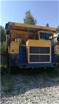 BELAZ 7555 D, 2012, Matibay na mga dump traks