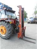 duplexmast mast, Tractoren