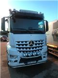 Mercedes-Benz Arocs 2551L, 2015, Skip loader trucks