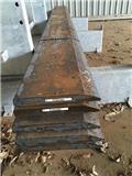 Stål Slitstål 500 o 600 Brinell, Други компоненти
